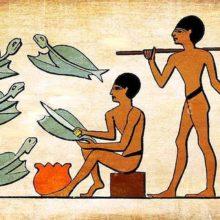 3 Egipčani in ribolov 1